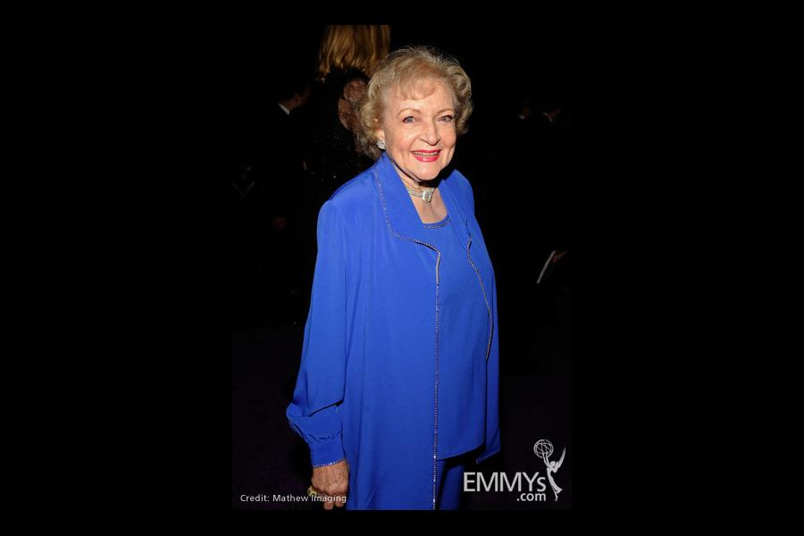 Betty White at the 61st Primetime Creative Arts Emmy Awards Governors Ball