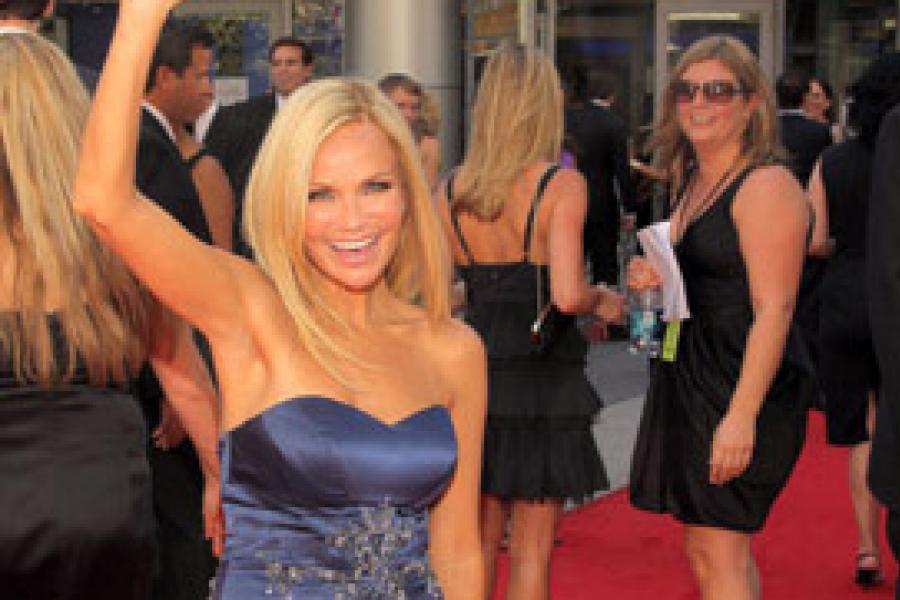 Kristin Chenoweth at the 62nd Primetime Creative Arts Emmy Awards