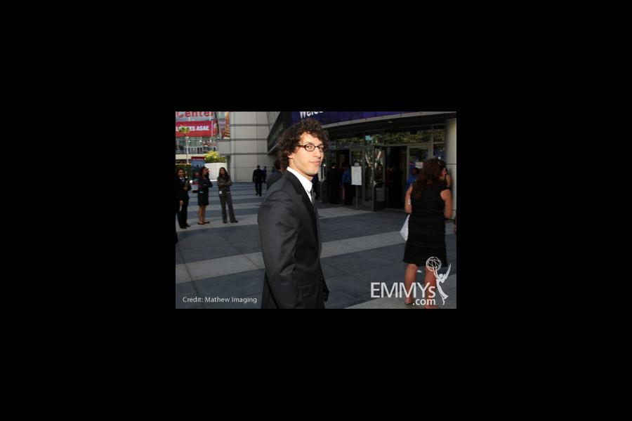 Andy Samberg at the 62nd Primetime Creative Arts Emmy Awards