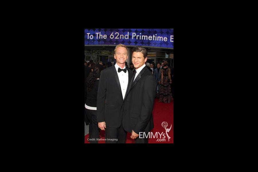 Neil Patrick Harris and David Burtka at the 62nd Primetime Creative Arts Emmy Awards