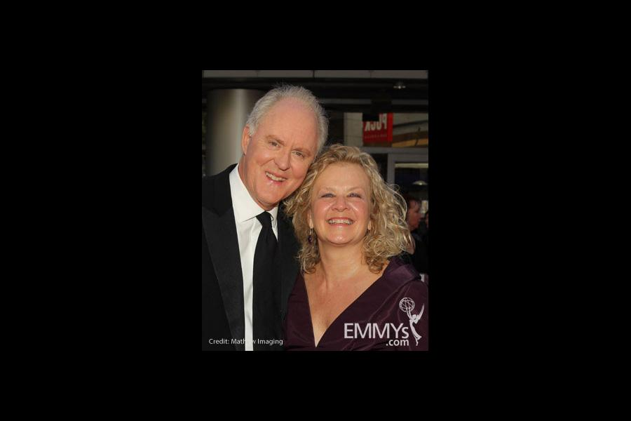 John Lithgow and Mary Yeager at the 62nd Primetime Creative Arts Emmy Awards