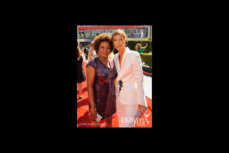 Wanda Sykes and Alex Sykes at the 62nd Primetime Creative Arts Emmy Awards