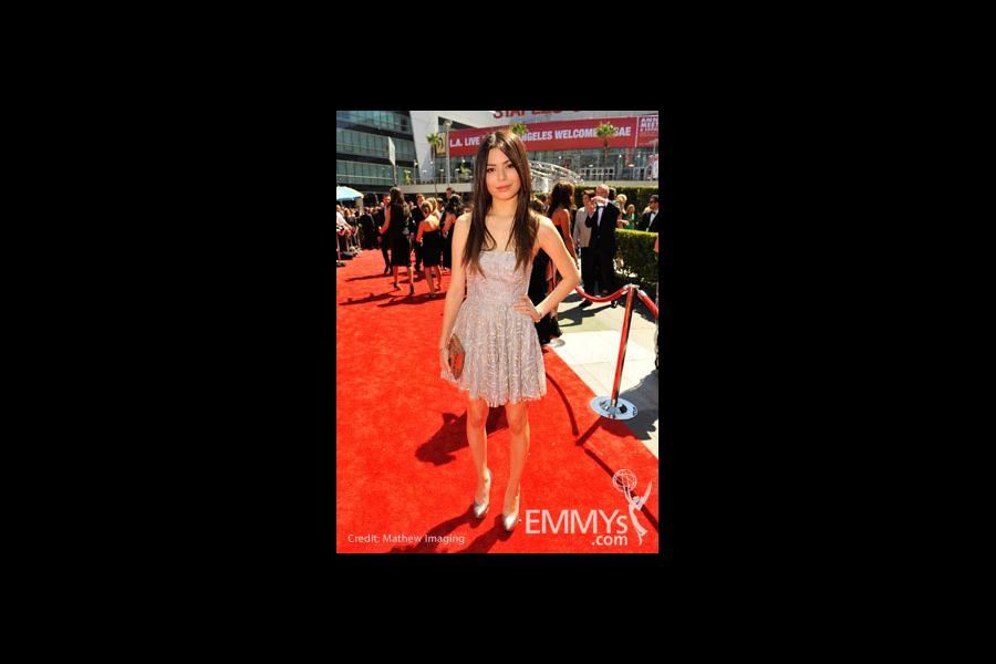 Miranda Cosgrove at the 62nd Primetime Creative Arts Emmy Awards
