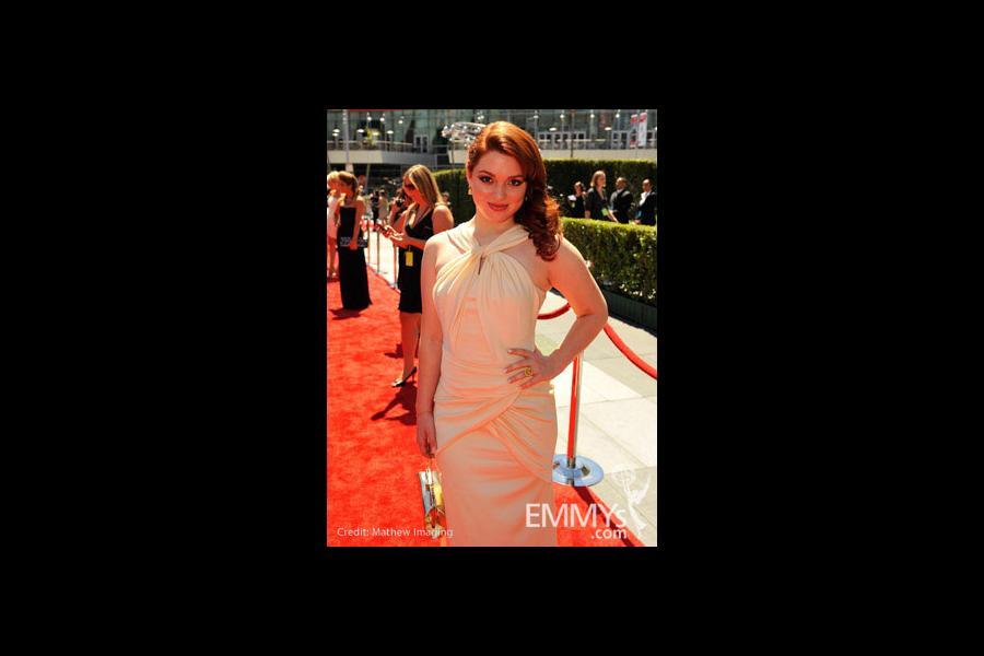 Jennifer Stone at the 62nd Primetime Creative Arts Emmy Awards