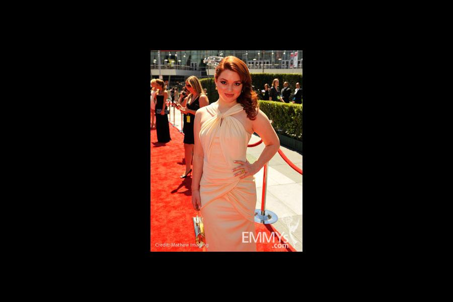 Jennifer Stone at the 62nd Primetime Creative Arts Emmy Awards