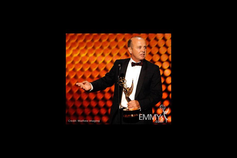 "Winner of Best Cinematography for Nonfiction for ""Life"" onstage during the 62nd Primetime Creative Arts Emmy Awards"