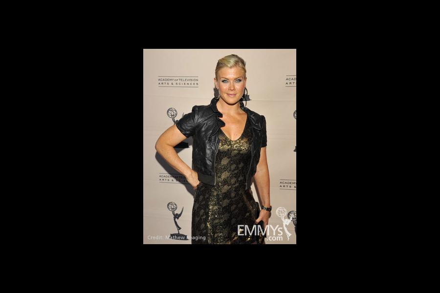 Alison Sweeney at the 45 Years Of Days Of Our Lives event