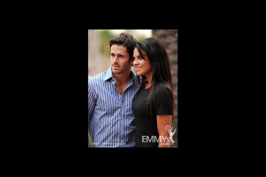 Brandon Beemer & Nadia Bjorlin at the 45 Years Of Days Of Our Lives event