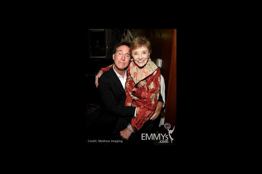 Drake Hogestyn & Peggy McCay at the 45 Years Of Days Of Our Lives event