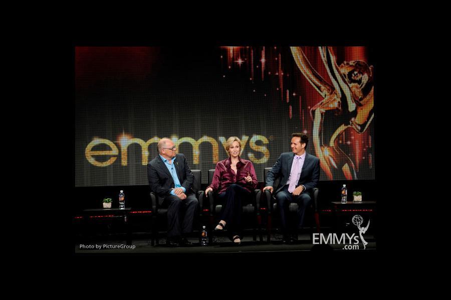 John Shaffner, Jane Lynch, Mark Burnett