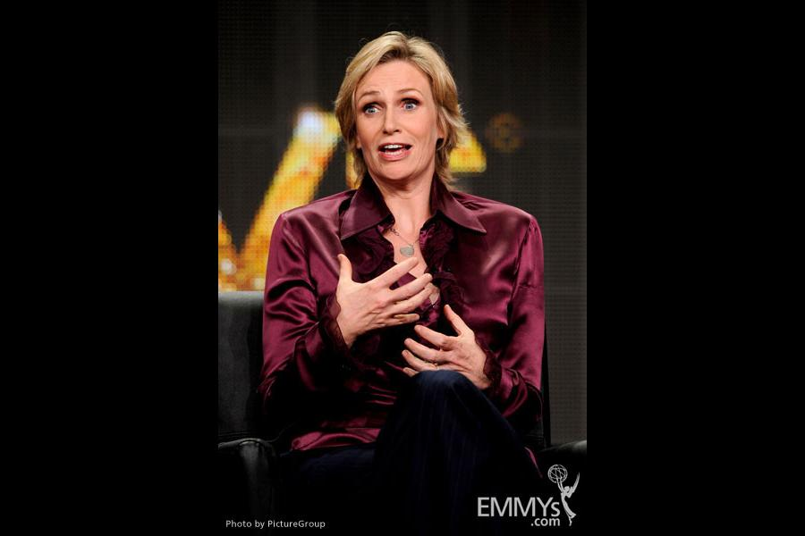 Jane Lynch at the TCAs
