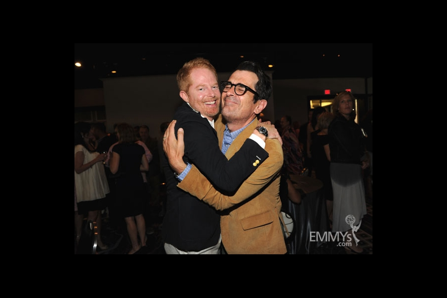 Jesse Tyler Ferguson and Ty Burrell at the 2013 Performers Emmy Celebration