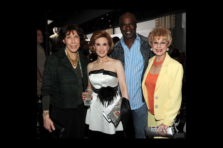 Lily Tomlin, Kat Kramer, Glynn Turman and Karen Sharpe at the 2013 Performers Emmy Celebration