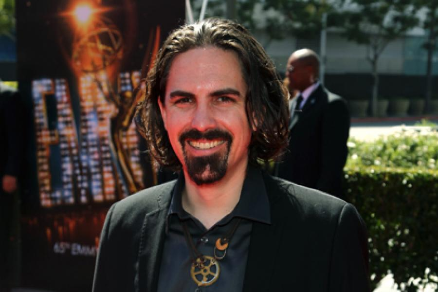 Bear McCreary on the Red Carpet at the 65th Creative Arts Emmys