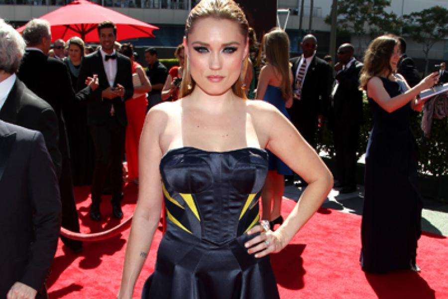 Clare Grant on the Red Carpet at the 65th Creative Arts Emmys