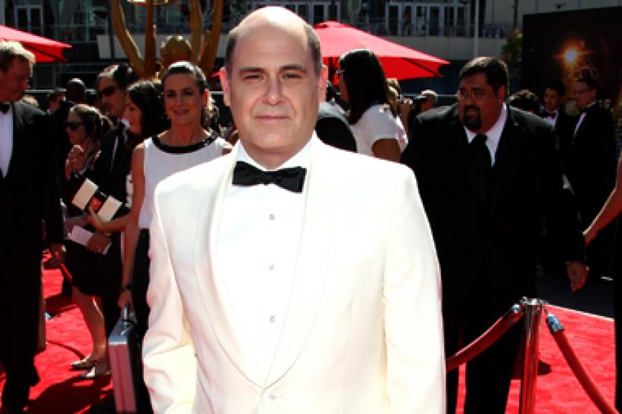Matthew Weiner on the Red Carpet at the 65th Creative Arts Emmys