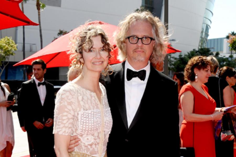 Anton Sanko on the Red Carpet at the 65th Creative Arts Emmys