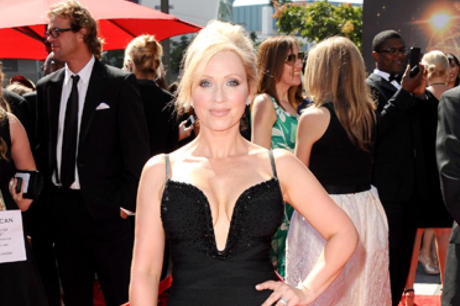 Leigh-Allyn Baker on the Red Carpet at the 65th Creative Arts Emmys