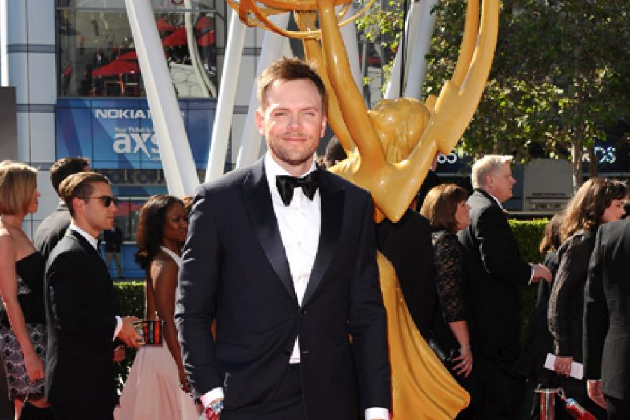 Joel McHale on the Red Carpet at the 65th Creative Arts Emmys