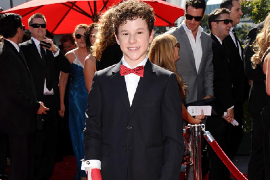 Nolan Gould on the Red Carpet at the 65th Creative Arts Emmys