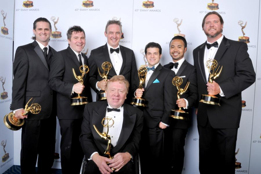 Creative team of American Horror Story at the 65th Creative Arts Emmys