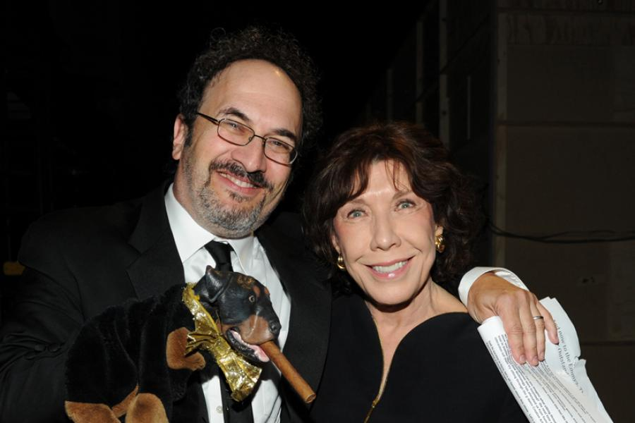 Robert Smigel and Emmy winner Lily Tomlin