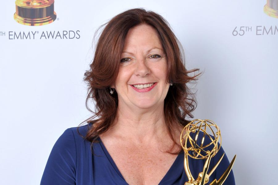 Diane Estelle Vicari at the 65th Creative Arts Emmys