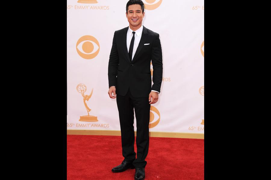 Mario Lopez on the Red Carpet at the 65th Emmys