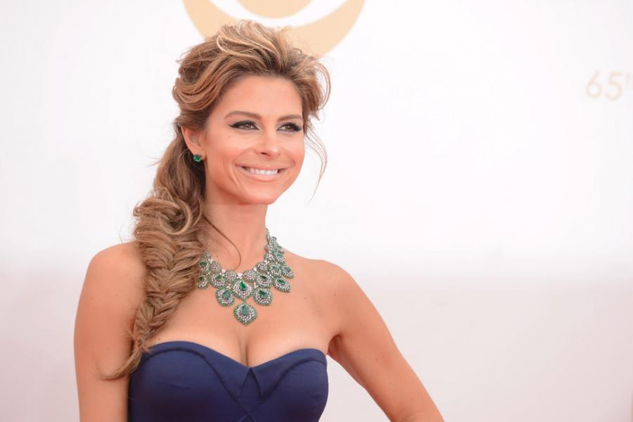 Maria Menounos on the Red Carpet at the 65th Emmys