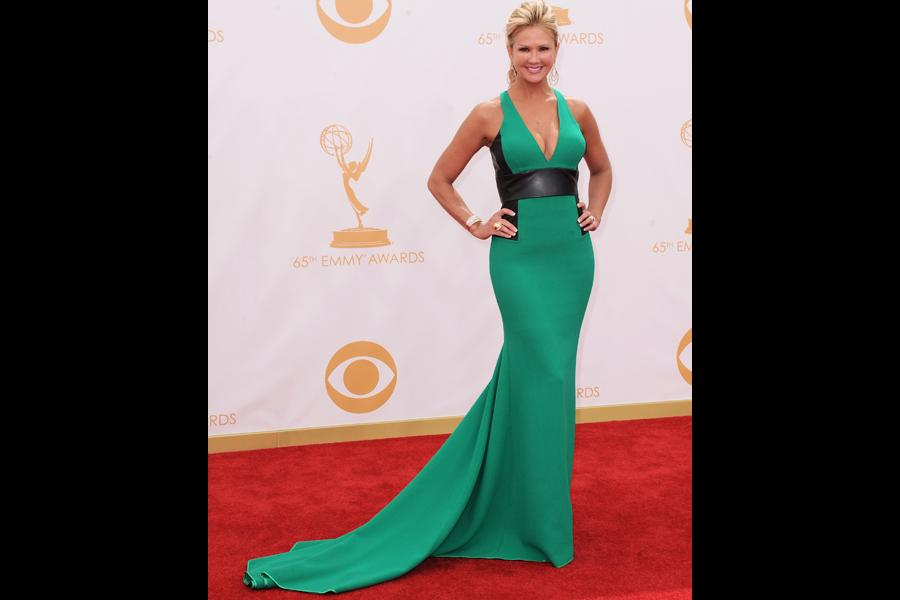 Nancy O'Dell on the Red Carpet at the 65th Emmys