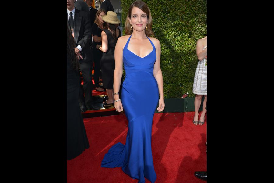 Tina Fey on the Red Carpet at the 65th Emmys