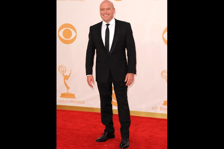 Dean Norris on the Red Carpet at the 65th Emmys