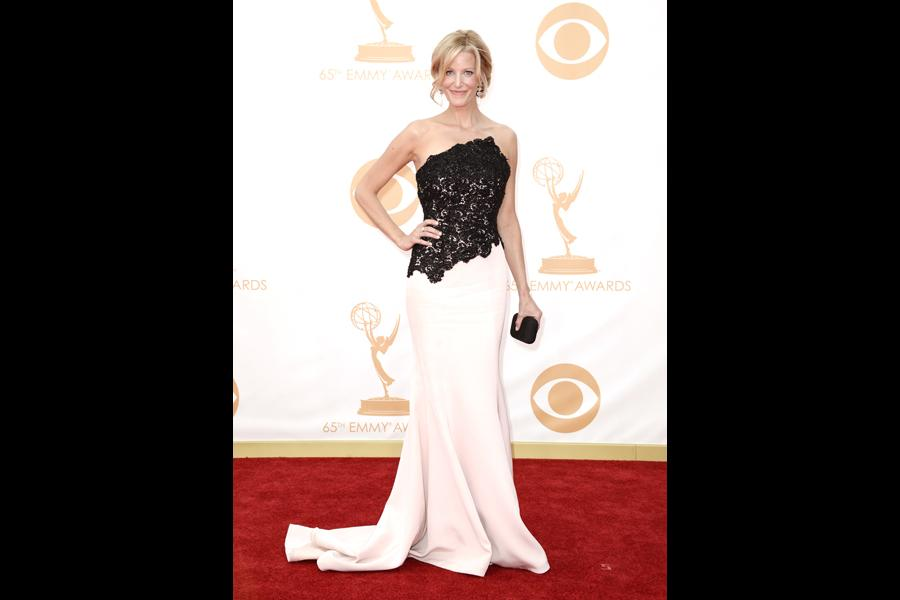 Anna Gunn on the Red Carpet at the 65th Emmys