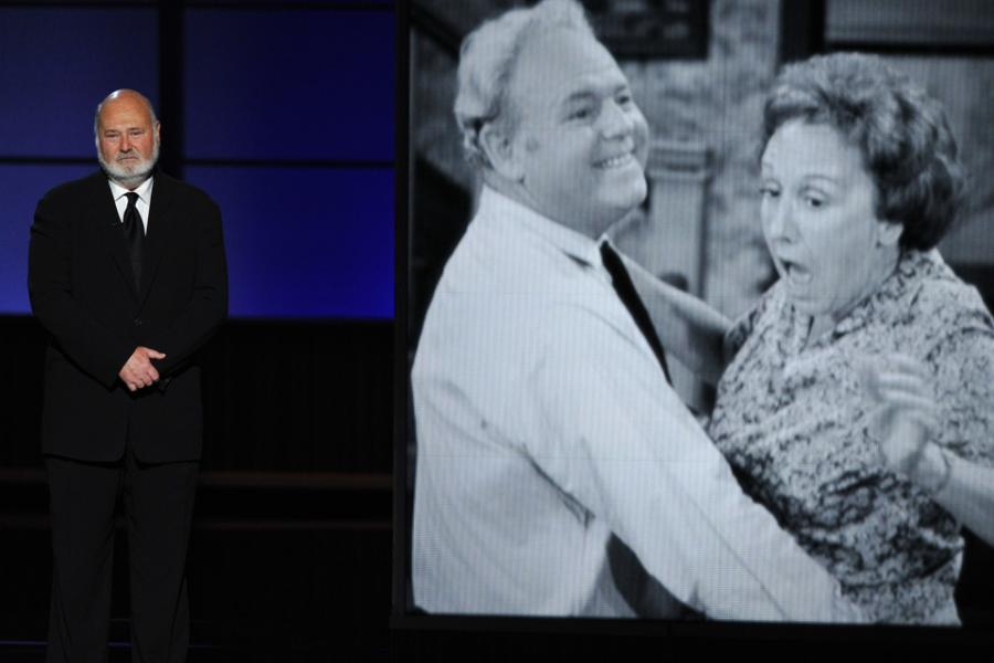 Rob Reiner remembers Jean Stapleton at the 65th Emmys