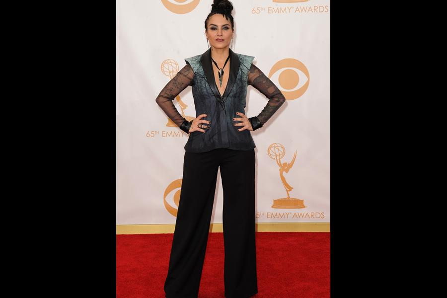 Sonya Tayeh on the Red Carpet at the 65th Emmys