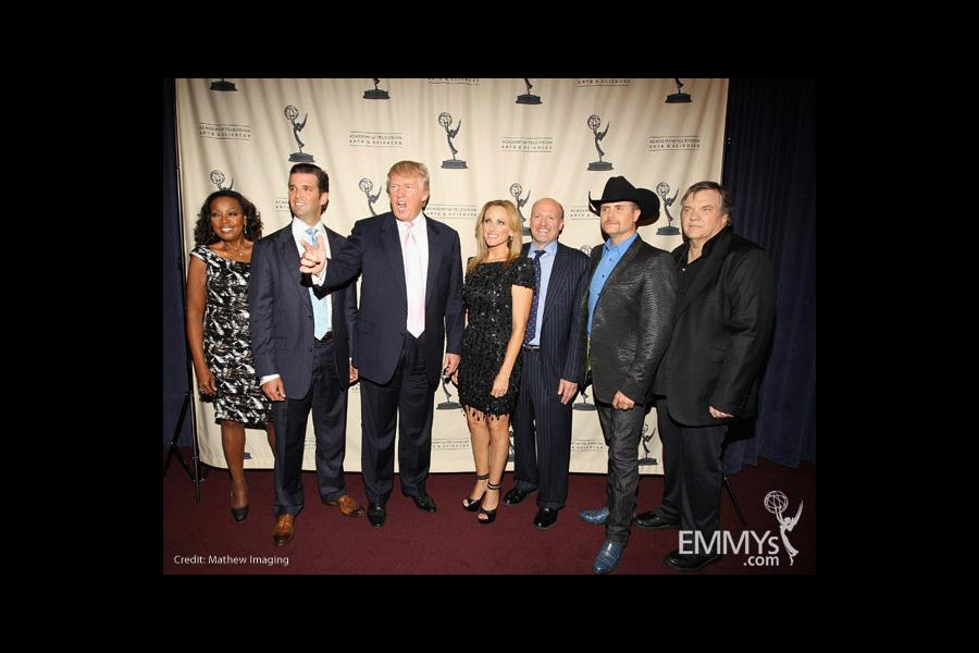 The cast at An Evening With Celebrity Apprentice