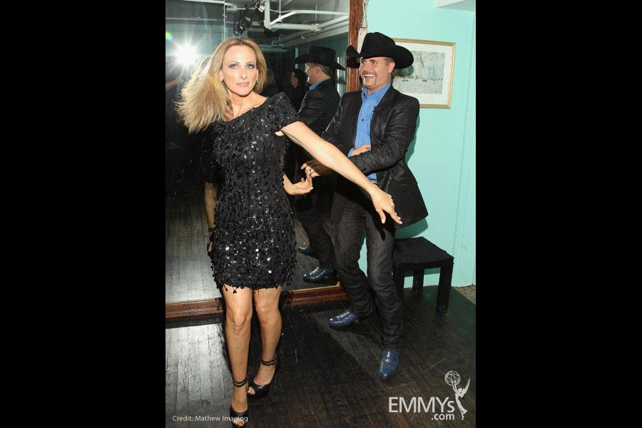 Marlee Matlin & John Rich at An Evening with The Celebrity Apprentice