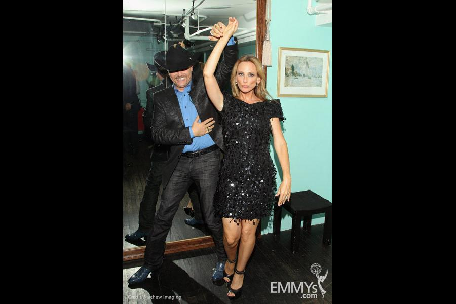 """Marlee Matlin & John Rich at """"An Evening with The Celebrity Apprentice"""""""