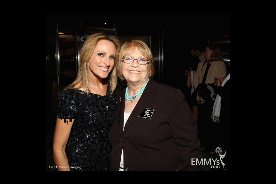 """Marlee Matlin & Television Academy Nancy Bradley Wiard at """"An Evening with The Celebrity Apprentice"""""""