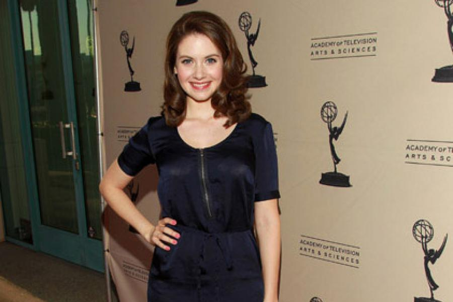 Alison Brie at An Evening With Community