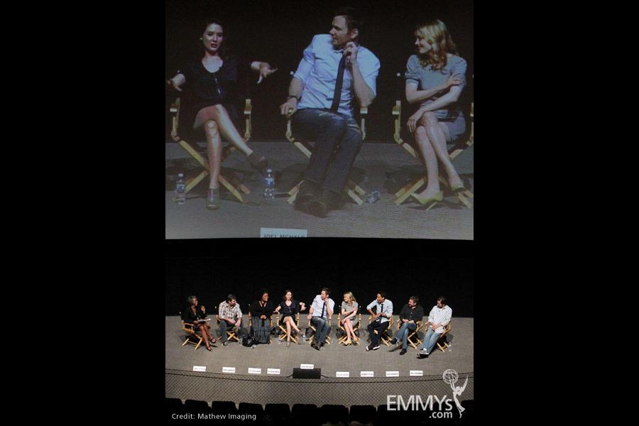 The cast at An Evening With Community