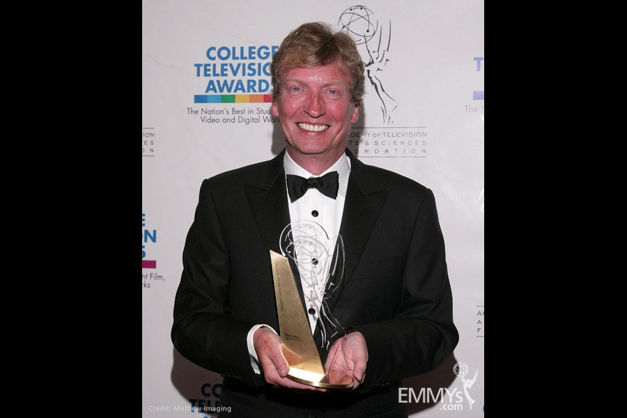 Nigel Lythgoe at the 31st College Television Awards