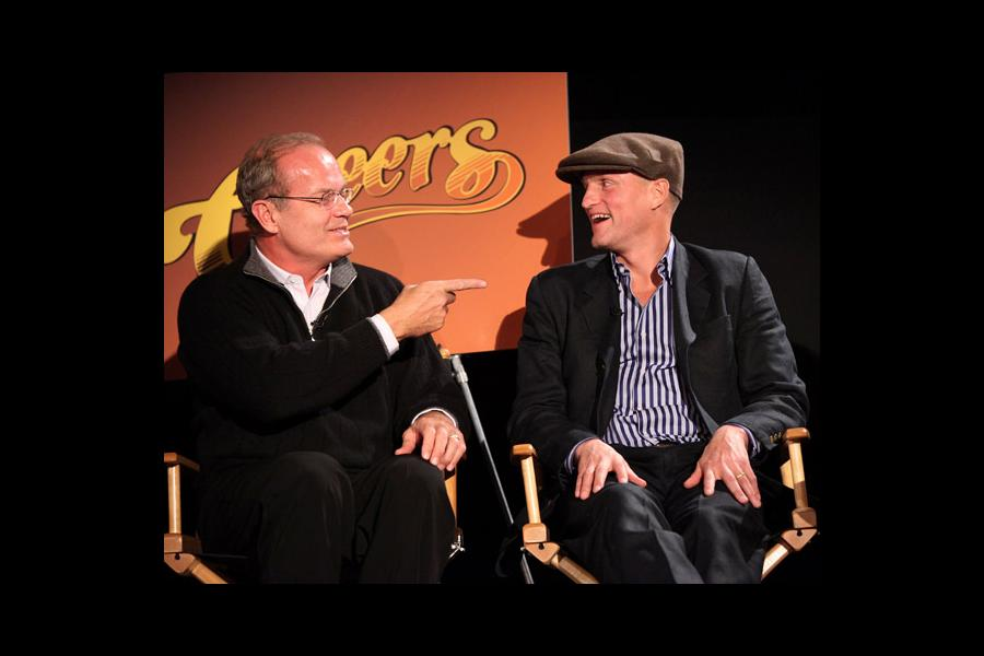 Actors Kelsey Grammer and Woody Harrelson