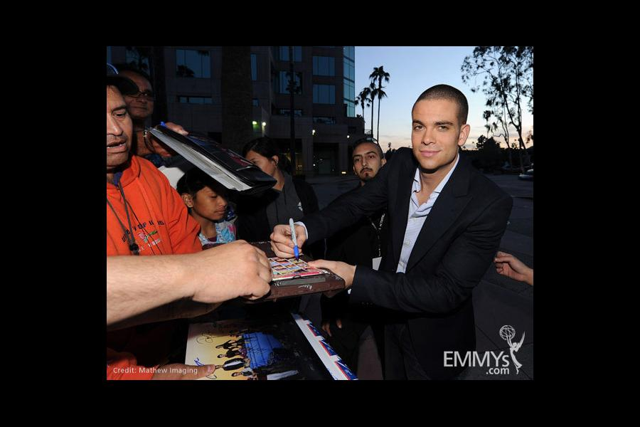 Mark Salling at An Evening With Glee
