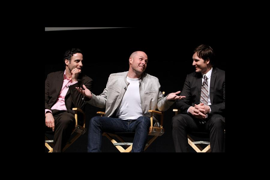 Actors Dominic Fumusa, Paul Schulze and Peter Facinelli