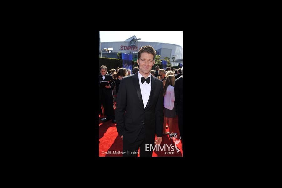 Matthew Morrison at the 62nd Primetime Emmy Awards