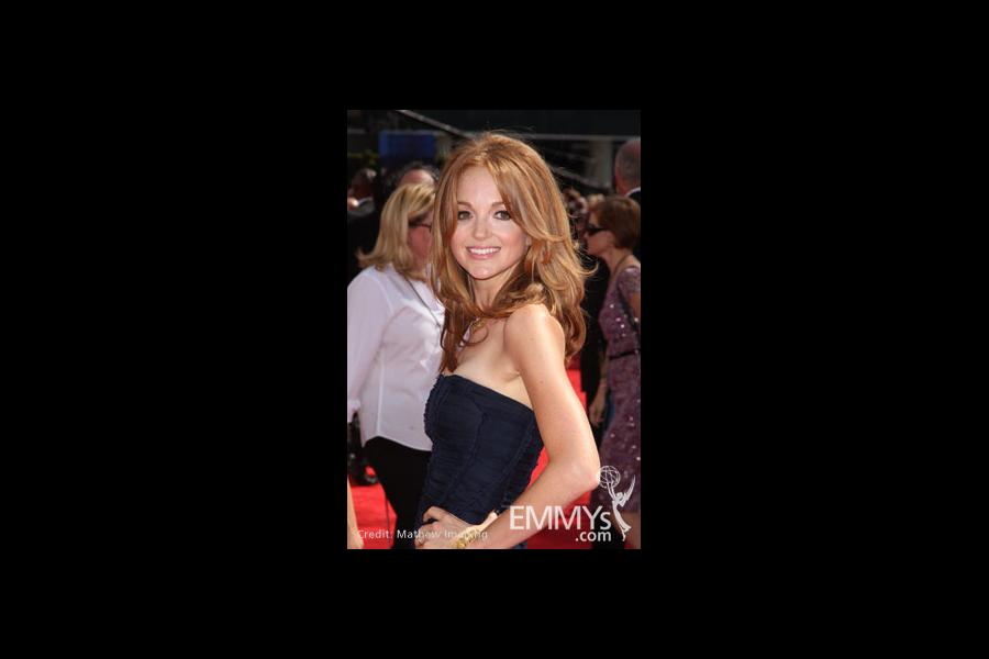 Jayma Mays at the 62nd Primetime Emmy Awards