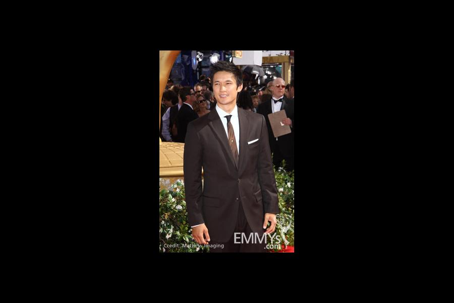 Harry Shum Jr. at the 62nd Primetime Emmy Awards