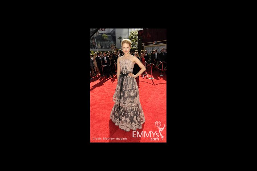 Dianna Agron at the 62nd Primetime Emmy Awards