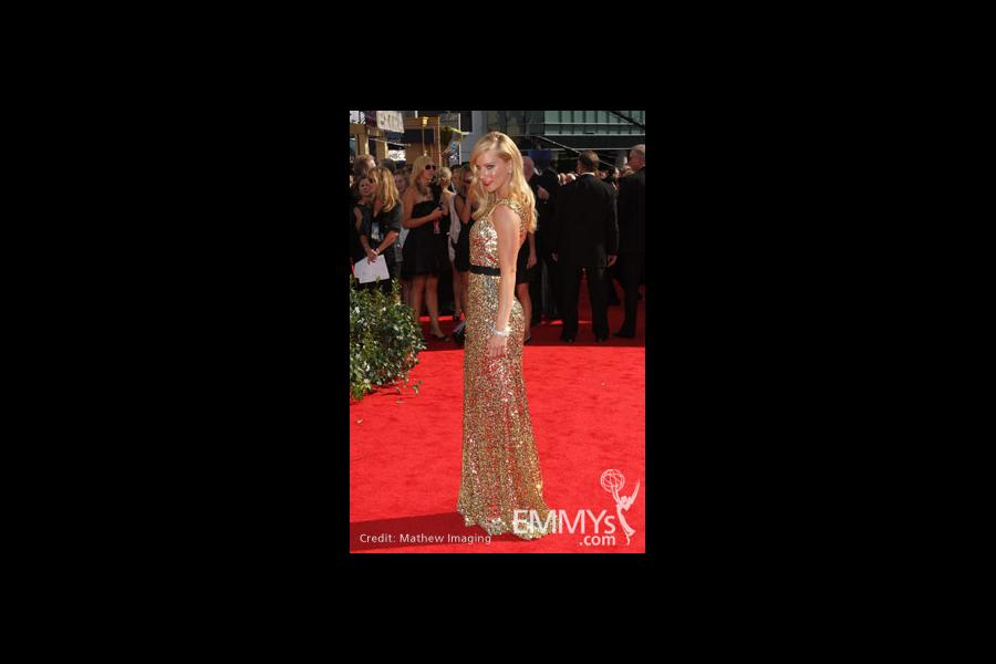 Heather Morris at the 62nd Primetime Emmy Awards